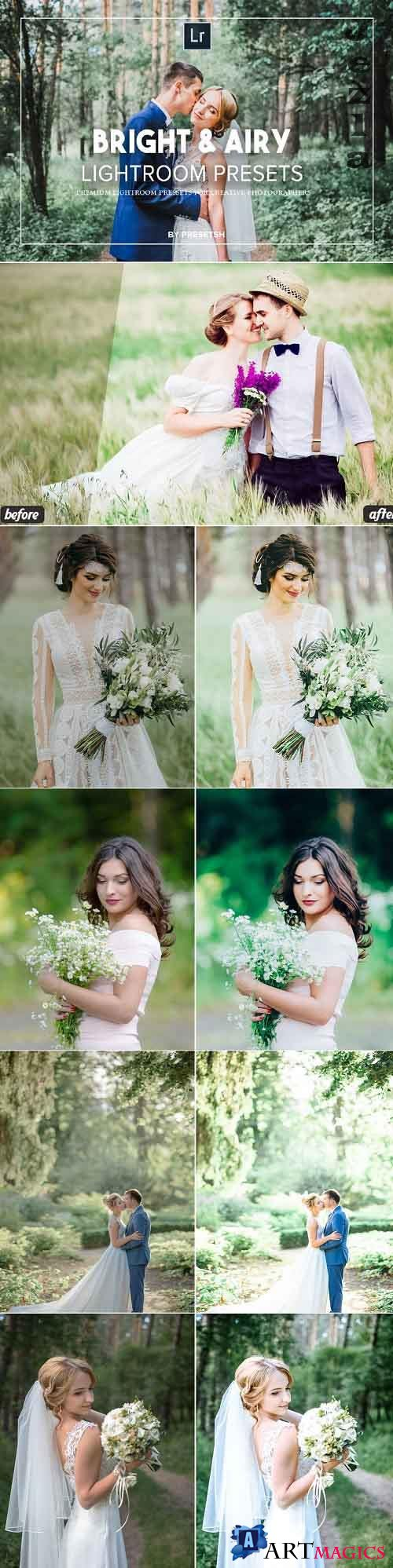 Bright & Airy Lightroom Presets 5125162