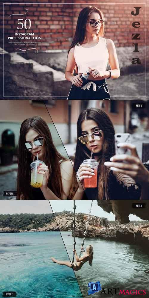 50 Instagram LUTs (Look Up Tables) 5376067