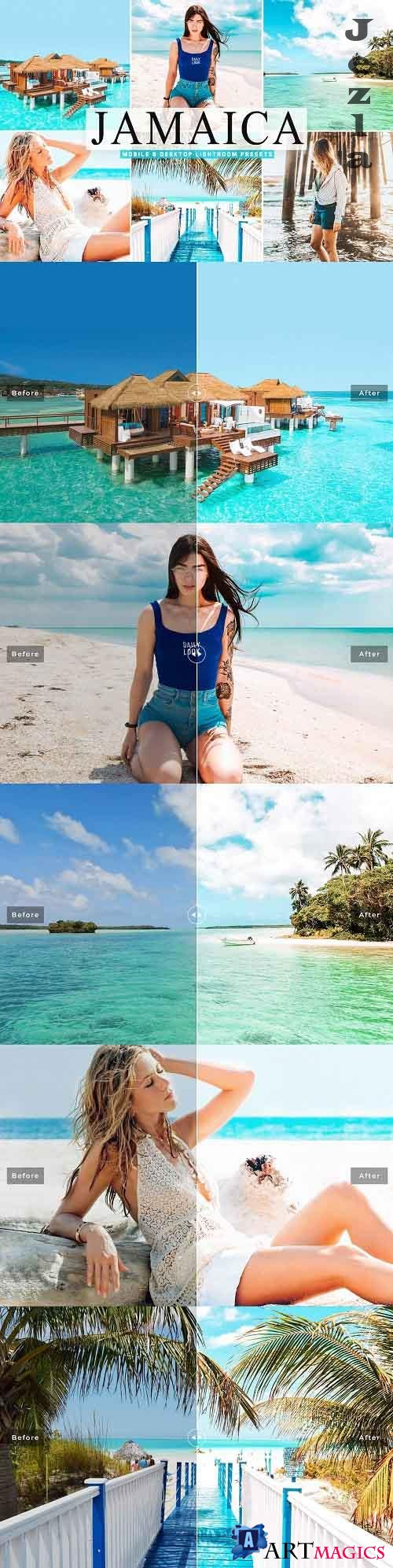 Jamaica Pro Lightroom Presets - 5375593 - Mobile & Desktop