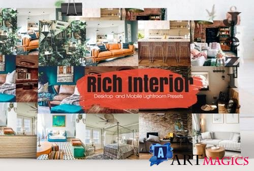 Rich Interior Lightroom Presets