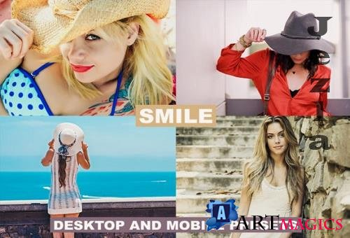 Desktop & Mobile Lightroom Presets Smile