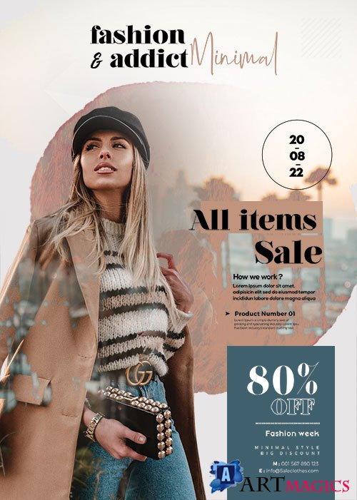 Fall Special Promotion Sale Flyer PSD Template