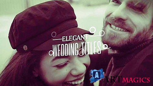 Elegant Wedding Titles 2157 -  Project for After Effects
