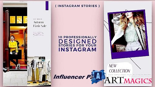 Instagram Stories: Influencer Pack 685 - Project for After Effects