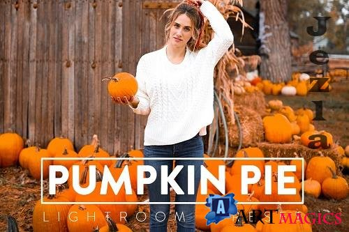 CreativeMarket - 10 PUMPKIN PIE Lightroom Preset 5568485