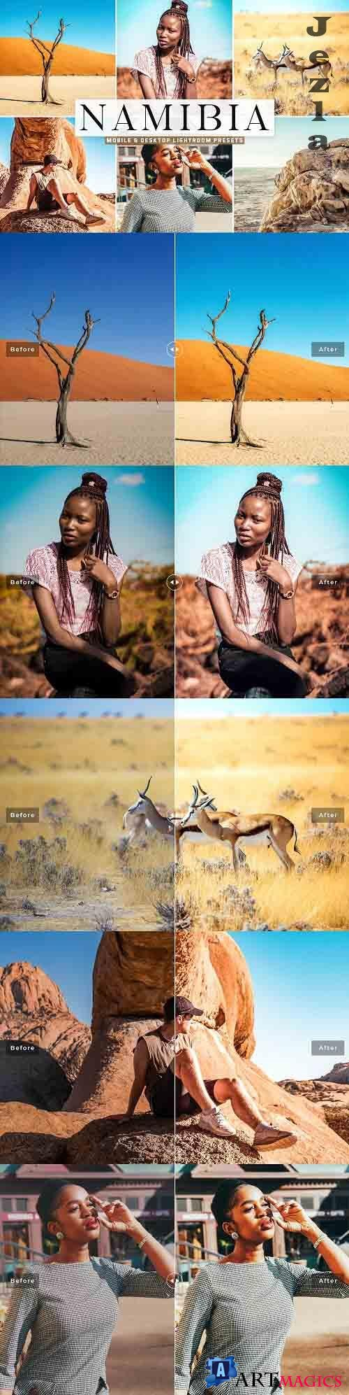Namibia Pro Lightroom Presets - 5610751 - Mobile & Desktop