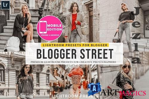 CreativeMarket - Blogger Street Lightroom Presets 3149941