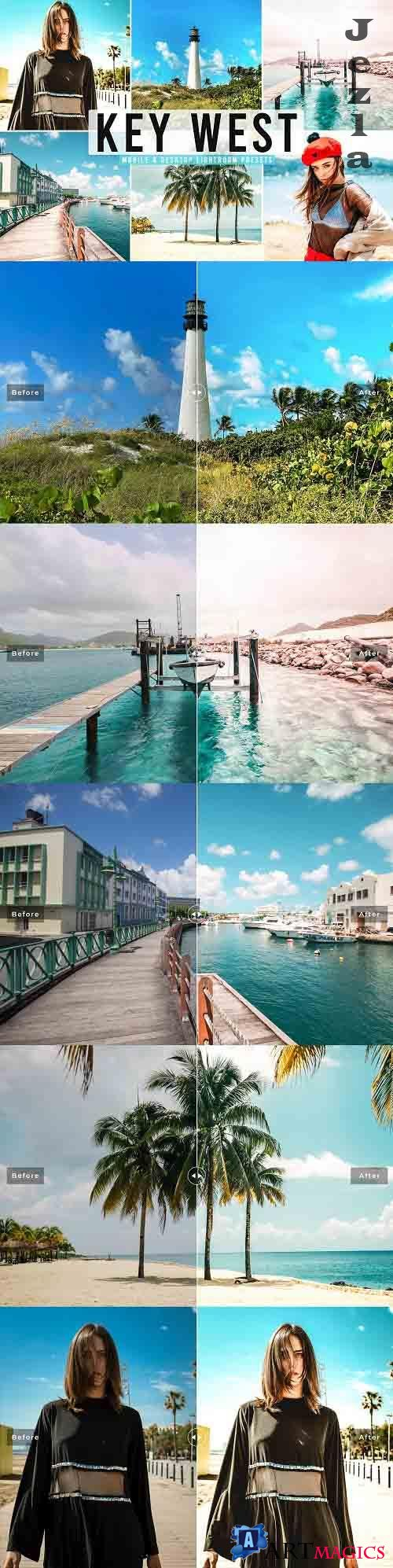 Key West Pro Lightroom Presets - 5613941 - Mobile & Desktop
