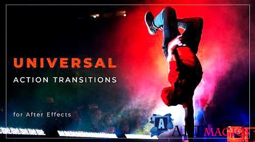 Universal Action Transitions 848757 - Project for After Effects