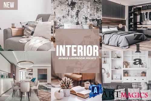 CreativeMarket - Mobile Lightroom Presets INTERIOR 4820715