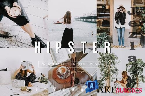 CreativeMarket - Aesthetic HIPSTER Lightroom Presets 4806642