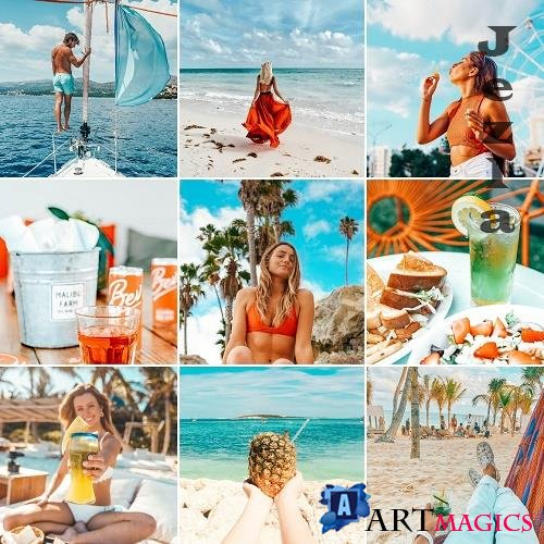 CreativeMarket - Mobile Lightroom Presets TEQUILA 4820303