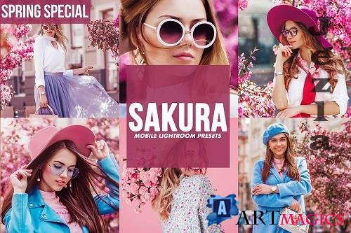 CreativeMarket - Mobile Lightroom Presets SAKURA 4817731