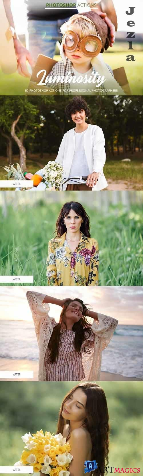 CreativeMarket - Luminosity Actions for Photoshop 4848059