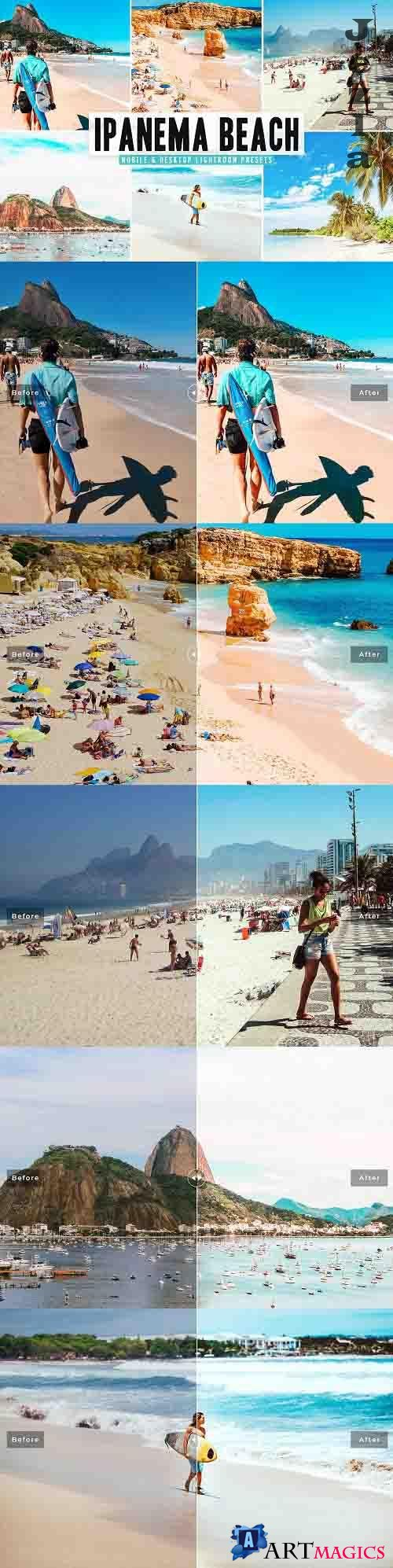 Ipanema Beach Pro Lightroom Presets - 5665929 - Mobile & Desktop