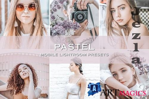 CreativeMarket - 5 Pastel Lightroom Presets 5701784