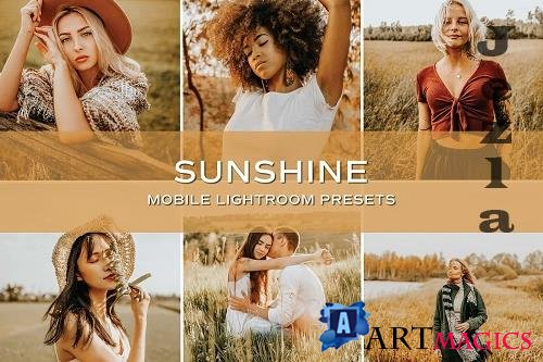 CreativeMarket - 5 Sunshine Lightroom Presets 5701791