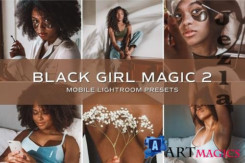 CreativeMarket - 5 Dark Skin Lightroom Presets 5701767