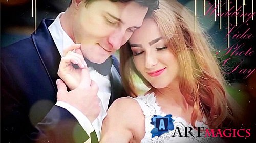 Wedding Video - Wedding Day - Wedding Photo Slideshow 15429480 - Project for After Effects